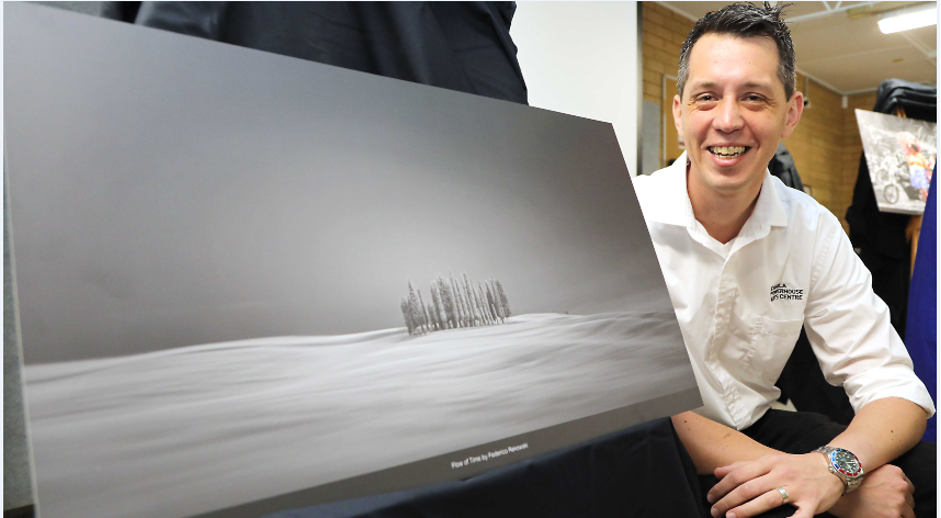 """First prize winner: Federico Rekowski with his winning image """"Flow of Time"""""""